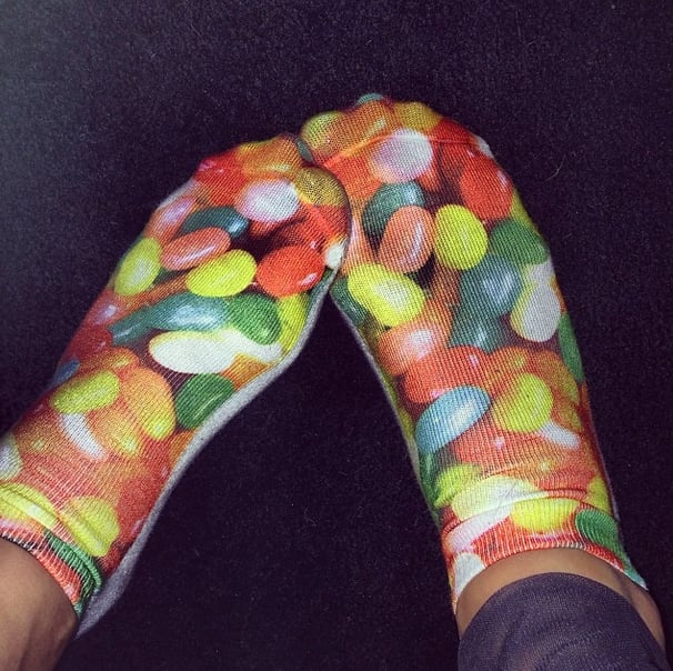 Rita Ora had some sweet feet. Source: Instagram user ritaora