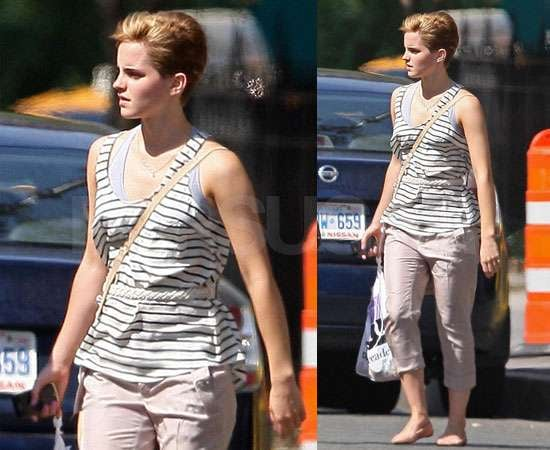 Pictures of Emma Watson New Hair