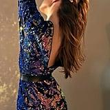 Magic Velvet Sequin Minidress