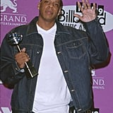 In December 1999, Jay-Z picked up a Billboard Music Award.
