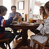 Keidrich Sellati, Holly Taylor, Keri Russell and Matthew Rhys in The Americans.