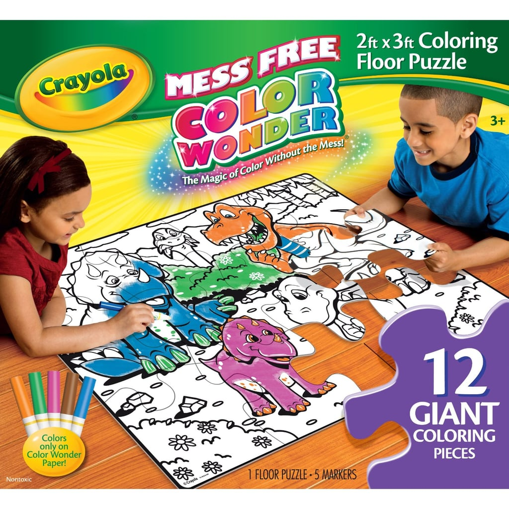 Crayola Color Wonder Floor Puzzle ($15)