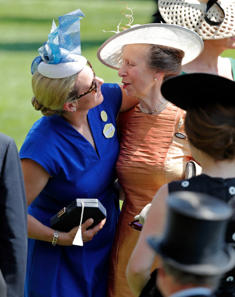 Zara Phillips With Princess Anne in June 2017