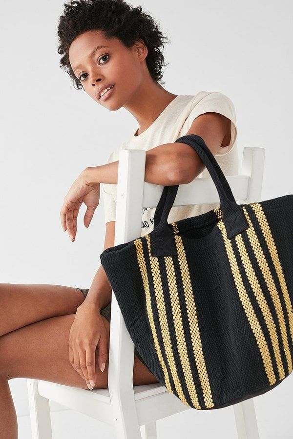 Urban Outfitters Yarn Dye Stripe Mini Tote Bag
