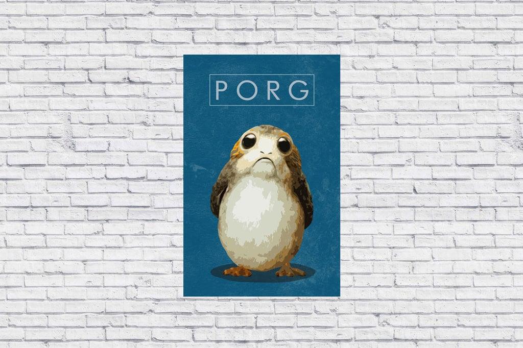 Porg Poster
