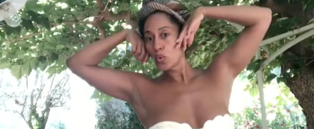 Tracee Ellis Ross Dancing on Vacation July 2018