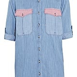 MiH's chambray shirt ($196) is a notch above the rest of the denim shirt crowd thanks to the pink pocket detailing and polished cuffed sleeves — just the right amount of femininity I've been looking to add to my Winter-to-Spring wardrobe. — Chi Diem Chau, shopping editor