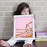 Framed Kid's Artwork