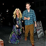 Jessica Simpson Has a Date Night With Eric Between TV Spots