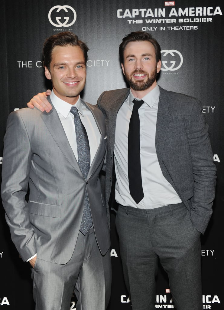 Chris Evans And Sebastian Stan Pictures POPSUGAR Celebrity