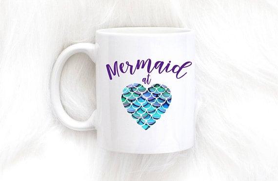 Mermaid at Heart Mug ($12)