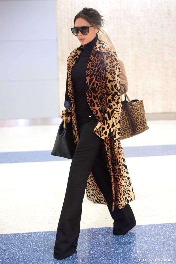 Victoria Beckham's Leopard Coat