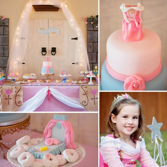 Blue or Pink? A Sweet Sleeping Beauty Birthday Party
