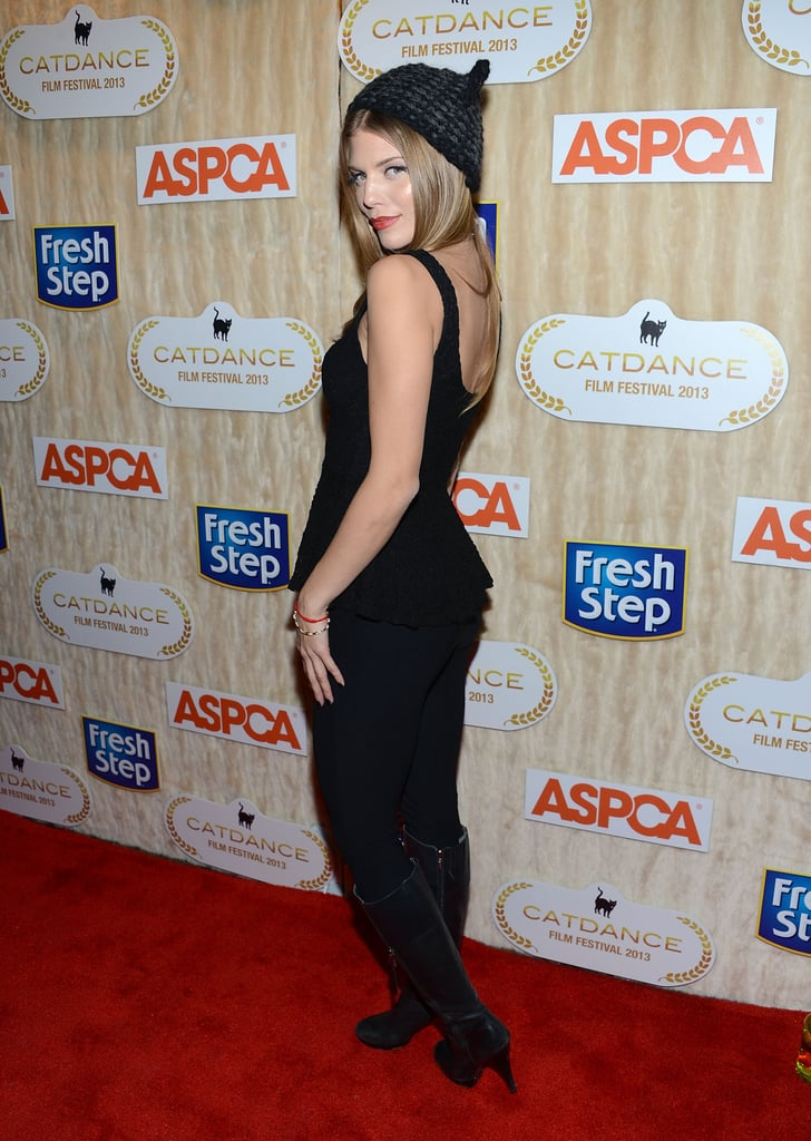 AnnaLynne McCord attended an ASPCA benefit at Sundance on Saturday.