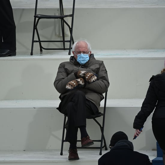 Bernie Sanders at the Presidential Inauguration Was a Mood