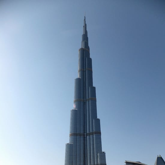 Phone Falls 40 stories While Filming the Burj Khalifa