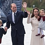 October 2016: Charlotte's First Royal Tour