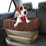 Your pooch doesn't need to bounce around in the backseat on a bumpy ride. He can go places in comfort with this Air Ride Booster Seat ($80).