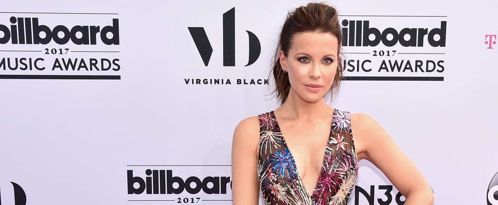 Kate Beckinsale Is Ready to Celebrate — Just Look at Her Dress