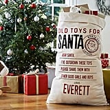 Return Toys to Santa Bag