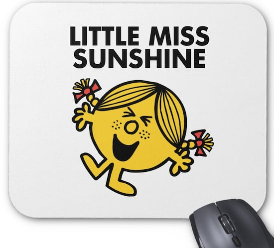 Little Miss Sunshine Mousepad