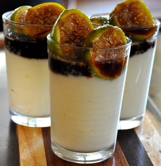 Balsamic Caramel Figs With Ricotta Mousse Recipe