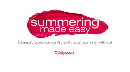 Summering Made Easy : 5 Beauty Buys You Can't Get Through Summer Without