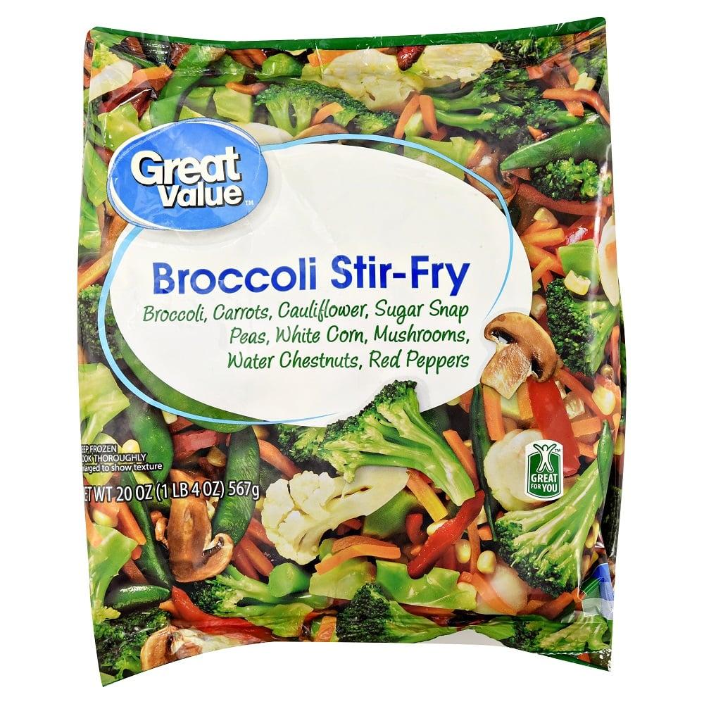 Great Value Broccoli Stir-Fry