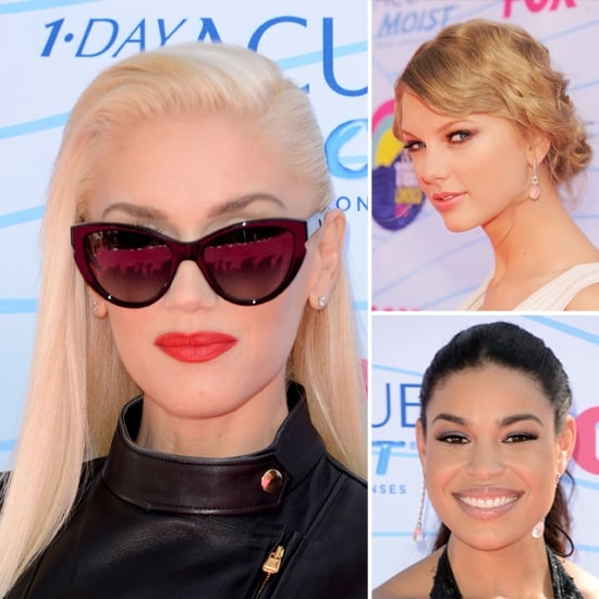 Teen Choice Awards Beauty Looks 2012