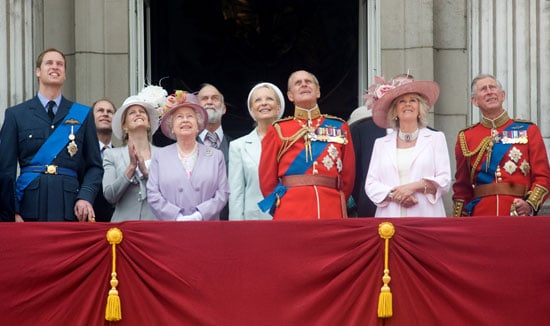 Pictures of Trooping the Colour 2010 at Buckingham Palace Inc the Queen, Prince William, Princess Beatrice, Princess Eugenie
