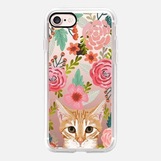 Orange Tabby iPhone 7 Case ($40)