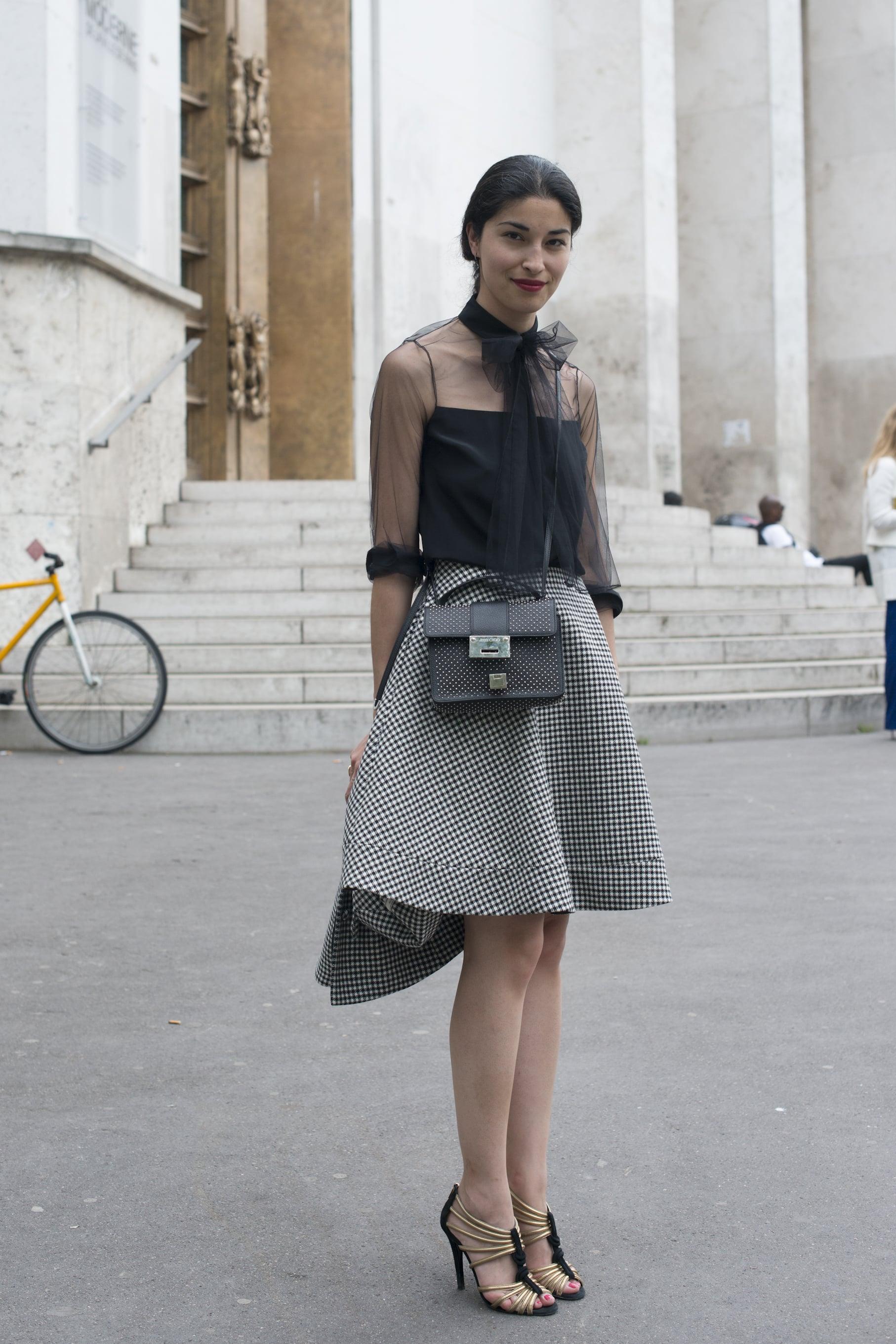 Caroline Issa at Fall 2013 Paris Haute Couture Fashion Week