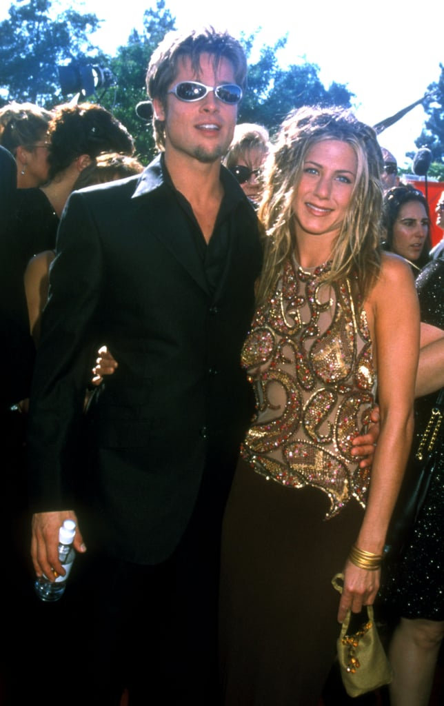 Brad Pitt and Jennifer Aniston  sc 1 st  Popsugar & Brad Pitt and Jennifer Aniston | Couples Halloween Costumes Inspired ...