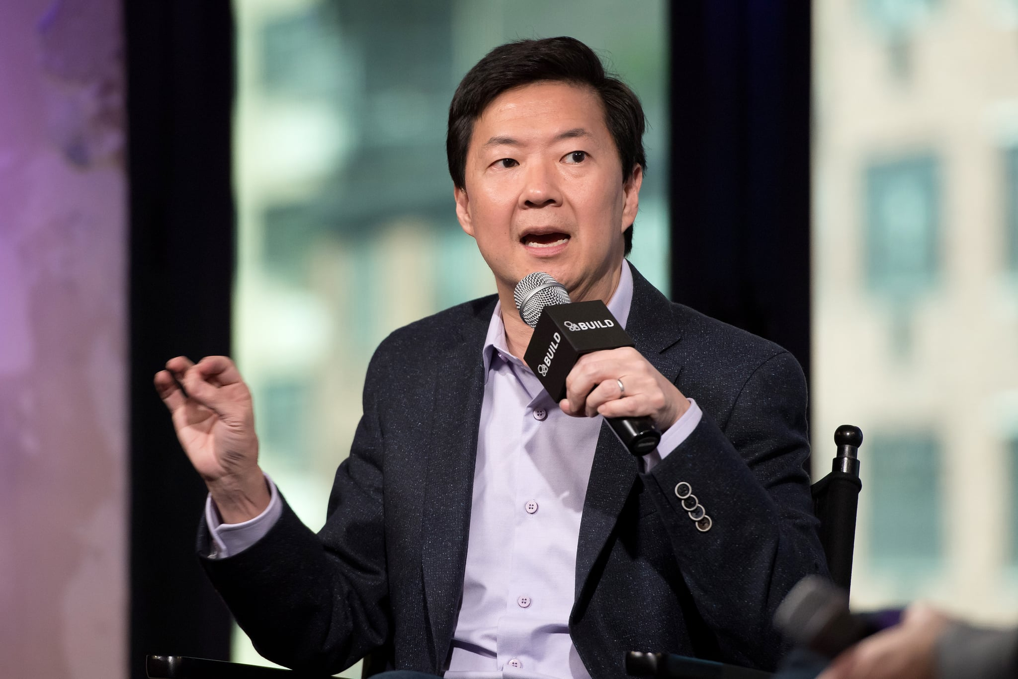 NEW YORK, NY - SEPTEMBER 22:  Ken Jeong attends the Build Speaker Series to discuss
