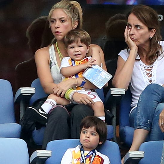 Shakira and Her Family at the Euro Cup 2016 | Photos