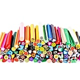 3D Nail Art Manicure Fimo Canes Fruit Slices Rods