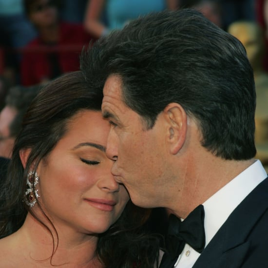 Pierce Brosnan and Keely Shaye Smith Cute Photos