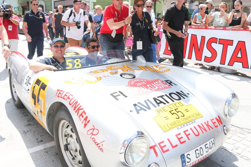 Patrick Dempsey At Ennstal Classic In Austria Pictures Popsugar