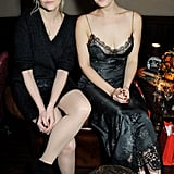Sophie Dahl and Gemma Arterton took a seat in their dark designs at Unicef's UK ball.