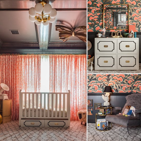 A New Vintage Nursery For a Sophisticated Little One