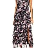 Bellevue the Label Antoinette Floral Ruffle Maxi Dress