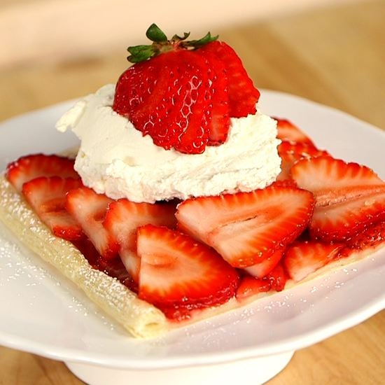 The Easiest Strawberry Tart Ever
