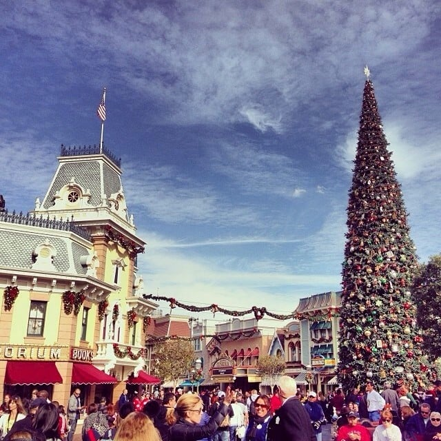 The scent of vanilla is pumped through the air on Main Street USA.
