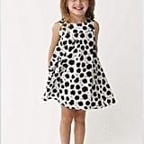 Cotton Ball Print Dress