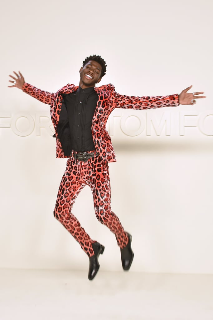 Lil Nas X at the Tom Ford Fall 2020 Show