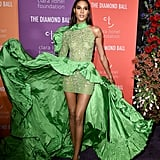 Cindy Bruna at the 2019 Diamond Ball
