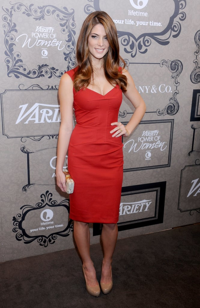 Bringing out the va-va-voom for the 2012 Power of Women event in Beverly Hills.