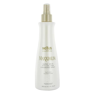 Review of Nexxus Maxximum Super Hold Styling and Finishing Spray