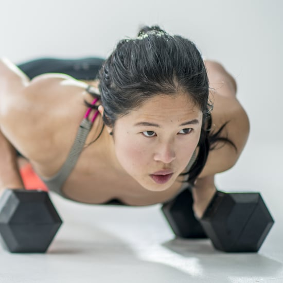45-Minute Dumbbell AMRAP Workout