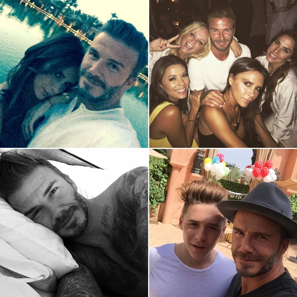 David Beckham Celebrating His 40th Birthday   Pictures